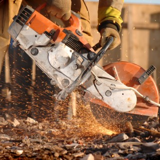 Portable High Speed Gas and Electric Saws