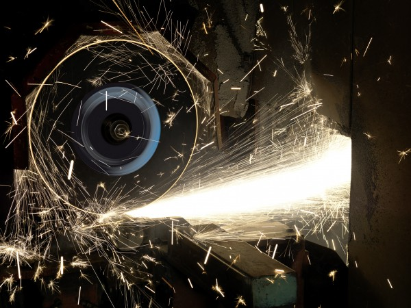 Cut-Off Grinding for Steel Industry