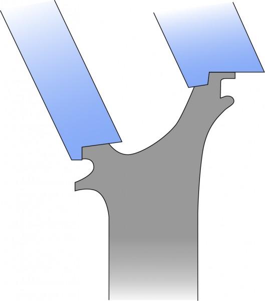 Turbine Rotor Vane - External Profile
