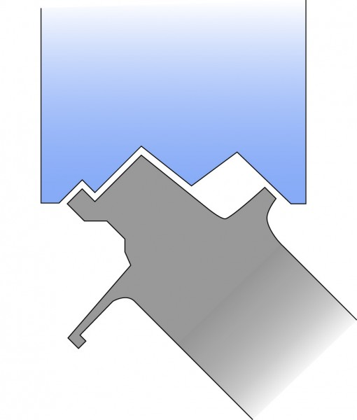 Turbine Strator Vane - Round Profile